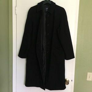 Gap wool blend pea coat